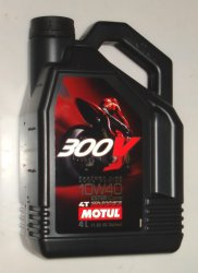 Масло моторное MOTUL 300 V 4T Factory Line 10W-40 100% Double Ester 4л