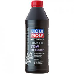 Масло для вилки Liqui Moly Fork Oil Medium/Light 7,5W 1 литр