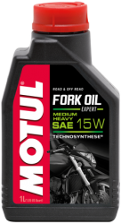 Масло для вилки MOTUL FORK OIL EXPERT MEDIUM/HEAVY 15W 1 литр
